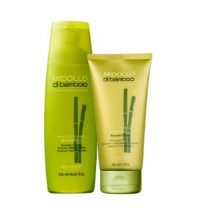 Kit Alfaparf Midollo di Bamboo - Shampoo + Máscara