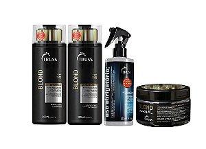Kit Truss Blond - Shampoo + Condicionador + Uso Obrigatório + Blond Mask