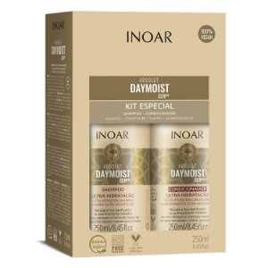 Inoar Kit Absolute Daymoist - Shampoo e Condicionador 250ml