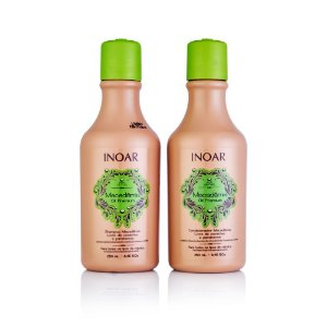 Inoar Kit Macadamia Oil - Shampoo e Condicionador 250ml