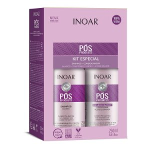 Inoar Kit Pós Progress - Shampoo e Condicionador 250ml