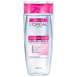 L'Oréal Paris Agua Micelar Solução de Limpeza 5 em 1, 200ml