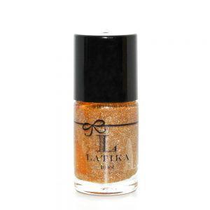 Latika Esmalte 3D Plum, Nude Glitter 10ml