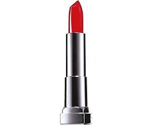 Maybelline Color Sensational Vermelhos Poderosos, Batom Matte Cor:307 Vou de Vermelho