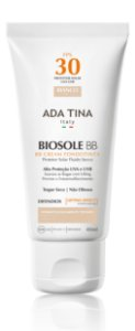 Ada Tina Biosole BB Cream FPS 30 Bianco Cor 15 - Protetor Solar Anti-Idade 40ml