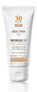 Ada Tina Biosole BB Cream FPS 30 Miele Cor 35 - Protetor Solar Anti-Idade 40ml