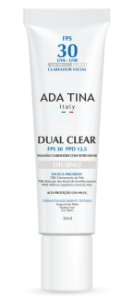 Ada Tina Dual Clear Diurno FPS 30 - Clareador 30ml
