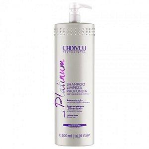 Cadiveu Platinum - Shampoo Purificante 500ml