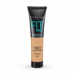 Maybelline Fit Me! Matte - Base Liquida, 080 Claro Elegante 35ml