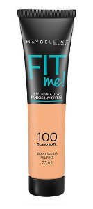 Maybelline Fit Me! Matte - Base Liquida, 100 Claro Sutil 35ml