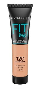 Maybelline Fit Me! Matte - Base Liquida, 120 Claro Ímpar 35ml