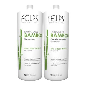 Felps Extrato de Bamboo - Kit Duo Plastificado 2x1000ml