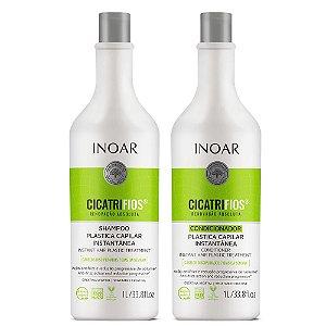 Inoar Kit Cicatrifios - Shampoo e Condicionador 1000ml
