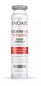 Inoar Cicatrifios Pós-Química - Ampola 45ml