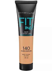 Maybelline Fit Me! Matte - Base Liquida, 140 Claro Singular 35ml