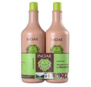 Inoar Kit Macadamia Oil - Shampoo e Condicionador 1000ml