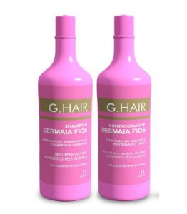 G.Hair Kit Desmaia Fios - Shampoo e Condicionador 1000ml