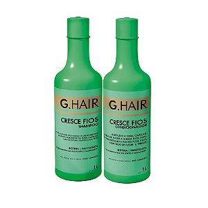 G.Hair Kit Cresce Fios - Shampoo e Condicionador 1000ml