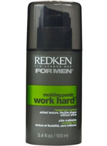 Redken Work Hard Molding Paste - Pasta Modeladora 100ml