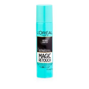 L'Oréal Paris Magic Retouch Preto - Spray 75 ml