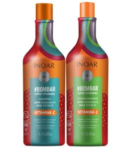 Inoar Kit Bombar - Shampoo e Condicionador 1000ml