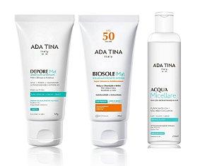 Kit Ada Tina 1 - Depore Mat + Biosole Mat + Acqua Micellare