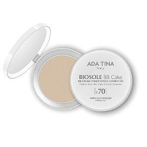 Ada Tina Biosole BB Cake FPS 70 Bianco Cor 15 - Protetor Solar Anti-Idade 10g