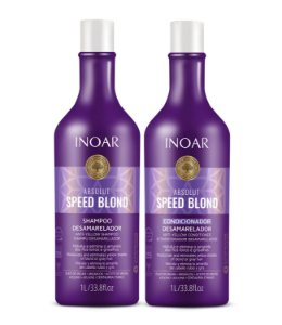 Inoar Kit Absolut Speed Blond - Shampoo e Condicionador 1000ml