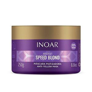 Inoar Absolut Speed Blond - Máscara 250g