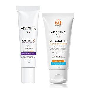 Kit Ada Tina Anti-idade - Pele Normal a Seca