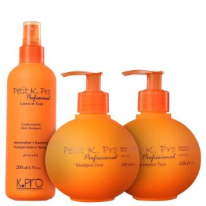 Kit K.Pro Petit - Shampoo + Condicionador + Leave-in
