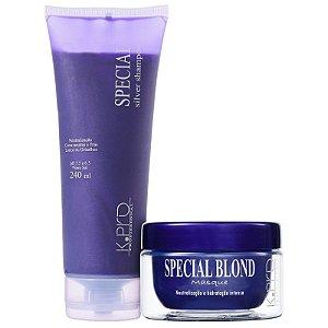 Kit K.Pro Special Silver Blond - Shampoo + Máscara