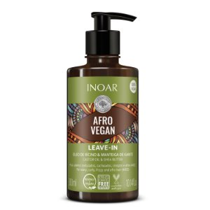 Inoar Afro Vegan - Leave-in 300ml