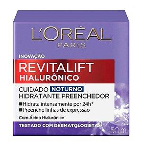 L'Oréal Paris Revitalift Hialurônico Noturno 49g
