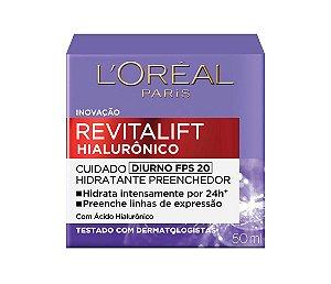 L'Oréal Paris Revitalift Hialurônico Diurno FPS 20 49g