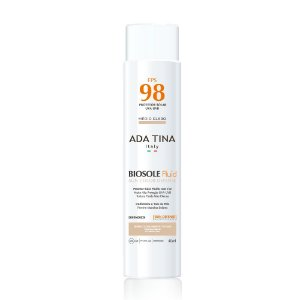 Ada Tina Biosole Fluid Sun Color Defense FPS 98 Médio Claro - Protetor Solar com Cor 40ml