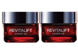 Kit L'Oréal Paris Revitalift Laser X3 - 2 Unidades
