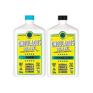 Kit Lola Ondulados Lola Inc. - Shampoo e Condicionador