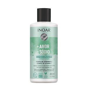 Inoar Mais Amor Menos Sódio - Condicionador 400ml