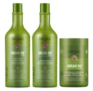 Kit Inoar Argan Oil - 3 Produtos
