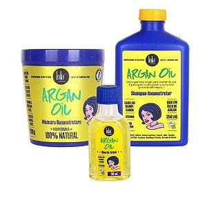 Kit Lola Argan Oil - 3 Produtos