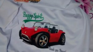 Camiseta exclusiva Buggy Spirit