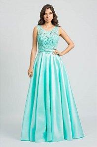 vestido longo tiffany sonho