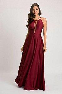 vestido longo leve e solto
