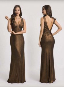 vertido longo cobre