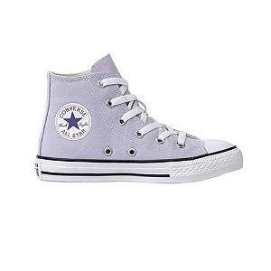 Tênis Converse Chuck Taylor All Star Kids Hi Lilás CK04280028