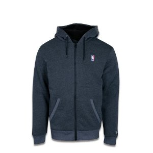 Moletom New Era NBA Basic Fur - Cinza