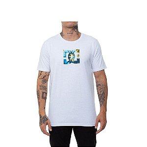 Camiseta DC Star Tie Dye Fill - Branca