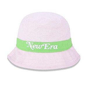 Bucket New Era Brasil Rosa/Verde