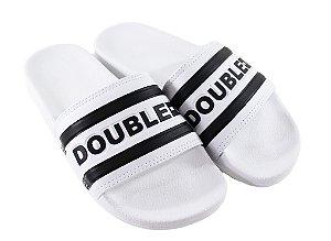Chinelo Double-G Branco